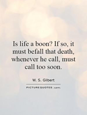 Quotes About Dying Too Soon