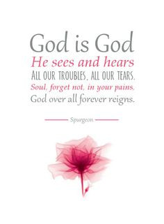God Over All Forever Reigns Spurgeon Hymn Quote Christian Typography ...