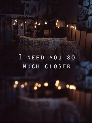 need you, love quotes