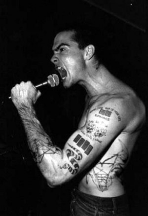 Henry Rollins. Black flag. The Rollins Band. The spoken word. Love