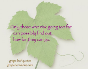Grape Leaf Quote: Articles