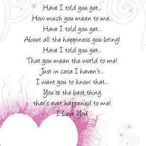 Until you Come into My world – Love Poem for Girlfriend from the ...