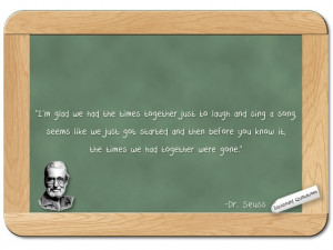 Blackboard Quotations: on Spending Time Together