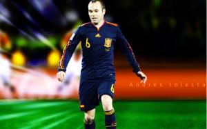 Andres Iniesta Barcelona Wallpaper For Desktop
