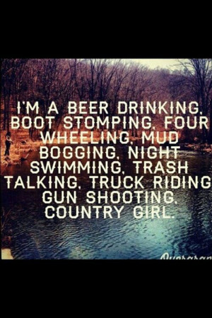 Me! Except the drinking beer part. Lol