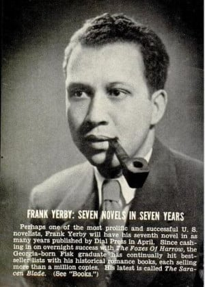 Novelist Frank Yerby in the February 21, 1952 issue of Jet.: Black ...
