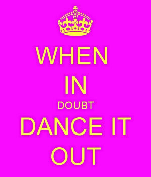 Dance quote from Facebook page
