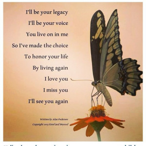Miscarriage memorial poem