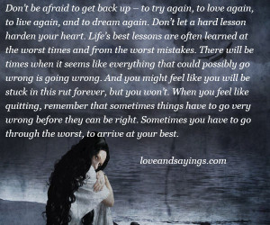 Quotes About Trying Love Again