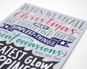 Holiday Print // Bob Hope Quote, Modern Calligraphy, Hand Lettering ...