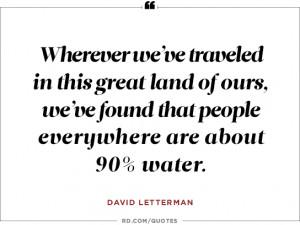 David Letterman on the apocalypse...