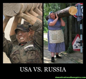 US ARMY VS RUSSIAN ARMY