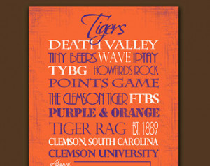 Clemson Tigers: Ready to Hang Stand out ...