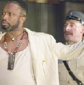 Sello Maake ka Ncube as Othello and Antony Sher as Iago