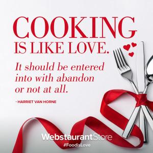 Harriet Van Horne Food Quote