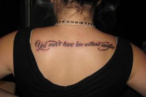 My Back Tattoo
