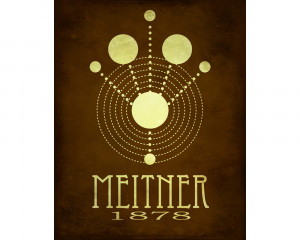 Lise Meitner Nuclear Fission Nuclear physics 11x14 lise