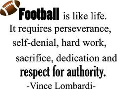 ... football coach wall quotes art sayings vinyl decals stickers