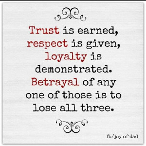 , Trust Is Earn Quotes, Deserve Trust, Life Lessons, Wisdom Quotes ...