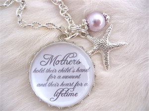Happy Birthday Mom In Heaven Quotes Mother of the bride gift