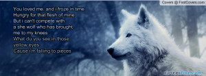 She Wolf Profile Facebook Covers