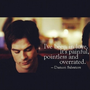 Damon Salvatore Favorite quote!