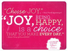 JOY, being happy is a CHOICE. Bible Verse Habakkuk 3:18