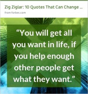 inspiration from Zig Ziglar #quotes