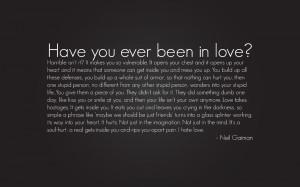 Neil Gaiman quote wallpaper