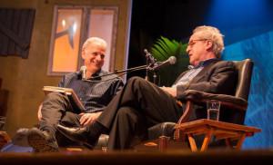 James Gleick and John Banville at the Key West Literary Seminar, 2014 ...