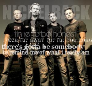 Song Tribute - nickelback Fan Art