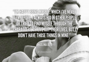 Quotes About Being Myself Preview quote