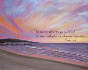 Sunset Bible Quotes With scripture bible verse