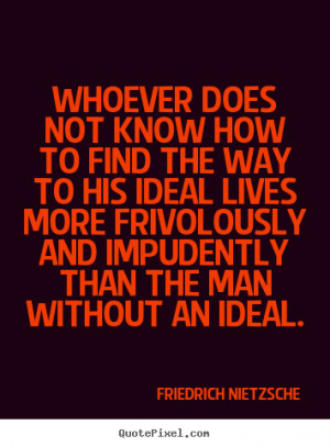 The Way Nietzsche