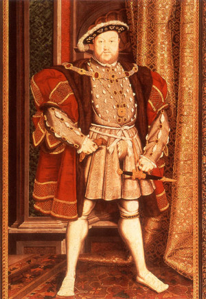 Henry VIII attributed to Hans Eworth c. 1545