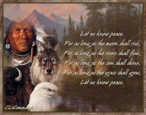 Thread: Native American Prayers - critical analysis