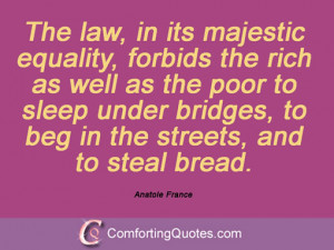 28 Quotes By Anatole France