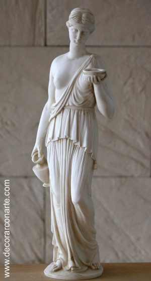 Hebe Greek Goddess Quotes Quotesgram