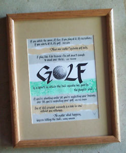 Famous-Golf-Quotes-Picture-Matted-Framed