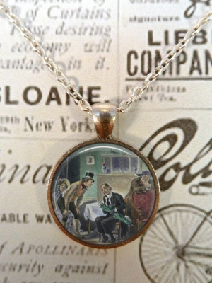 Charles Dickens Necklace, Bumble, Quote, Literature, Steampunk, Oliver ...