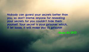 imamali imam ali ali imam secret secrets quote quotes saying sayings ...