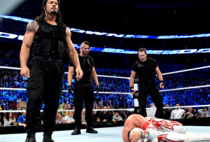 ... of The Shield have already left quite a mark on the WWE. Photo