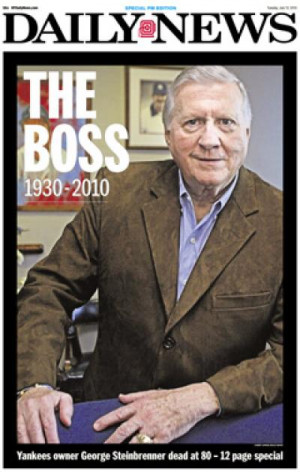 George Steinbrenner is remembered in a special edition o the Daily ...