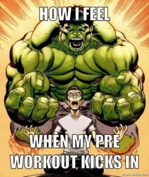 Love that feel - HULK mode - Motivation