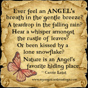 ever feel an angel s breath in the gentle breeze a teardrop in the ...