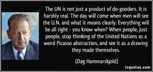 More Dag Hammarskjold Quotes