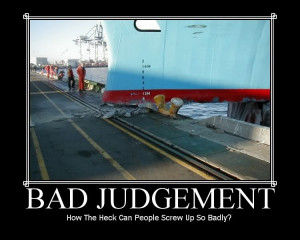 Judgement From Experience Bad