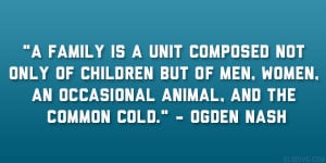 Ogden Nash Quote