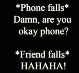 friends, life, phone, quotes