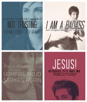 The Mortal Instruments Quotes Simon